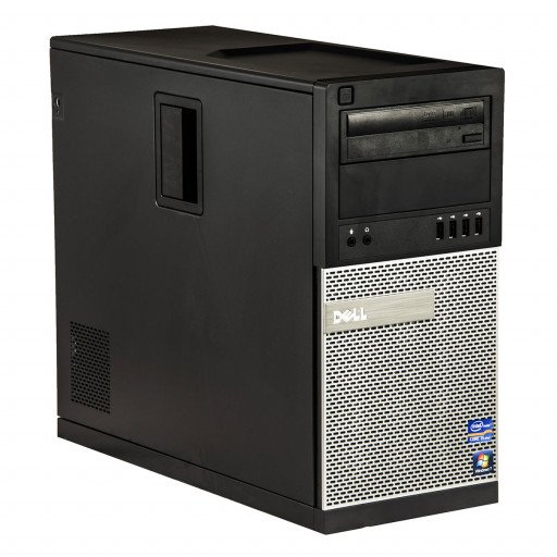 Dell Optiplex 790 Intel Core i5-2400 3.10 GHz, 4 GB DDR 3, 250 GB HDD, DVD-ROM, Tower, Windows 10 Home MAR