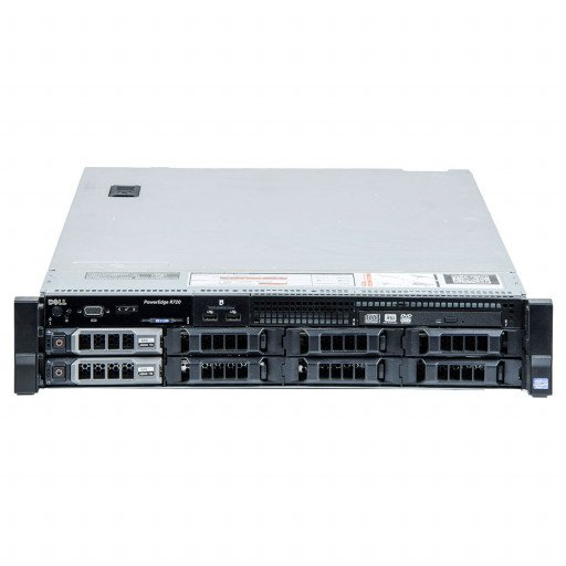 Dell PowerEdge R720 2 x Intel Xeon E5-2670 2.60 GHz, 32 GB DDR 3 REG, 2 x 4 TB HDD 3.5 inch, PERC H710 Mini, Rackmount 2U