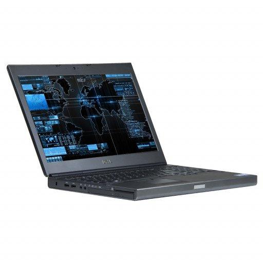 Dell Precision M4800 15.6 inch LED, Intel Core i7-4700MQ 2.40 GHz, 16 GB DDR 3, 256 GB HDD, 2 GB Radeon HD8870M, Webcam, Windows 10 Home MAR
