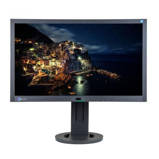 EIZO FlexScan EV2313W, 23 inch LED, 1920 x 1080 Full HD, 16:9, displayport, negru - argintiu