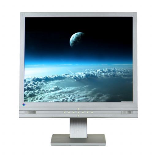 EIZO L767, 19 inch LCD, 1280 x 800, negru - argintiu