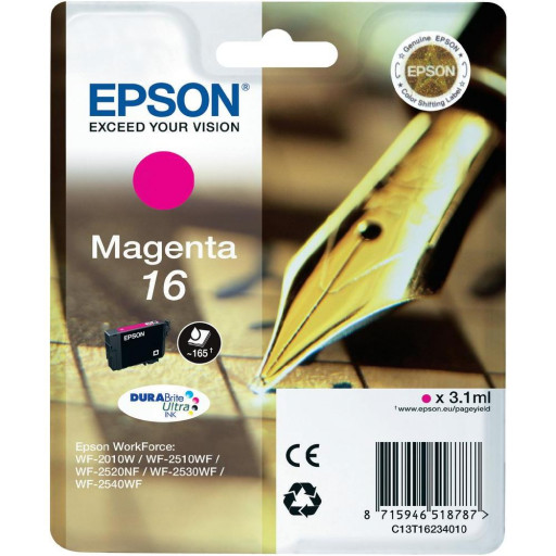 Cartus Epson C13T16234010 Nr. 16 Magenta