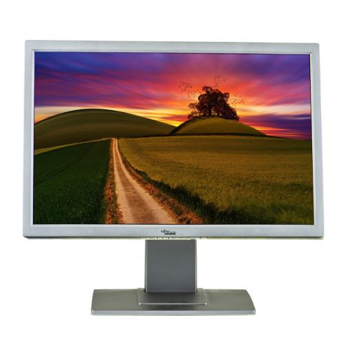 Fujitsu A22W-3A, 22 inch LCD, 1680 x 1050, 16:10, negru - argintiu