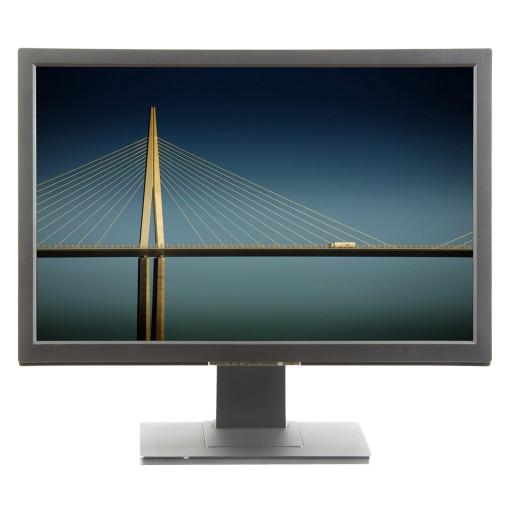 "Fujitsu A24W-3A, 24"" LCD, 1920 x 1200 Full HD, 16:10, negru - argintiu, monitor refurbished"