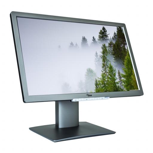 Fujitsu-Siemens B23T-7, 23 inch LED, 1920 x 1080 Full HD, 16:9, displayport, negru - argintiu