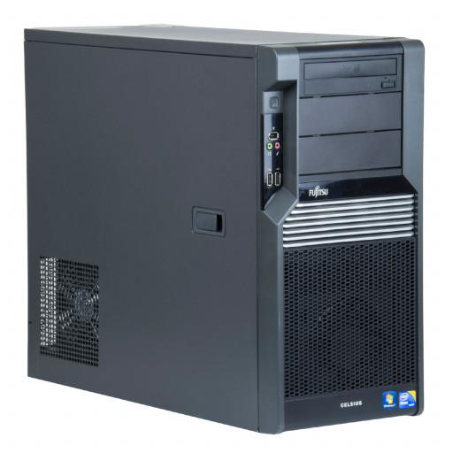 Fujitsu Celsius M470-2 Intel Xeon W3565 3.20 GHz, 8 GB DDR 3 ECC, 300 GB HDD, DVD-ROM, 1 GB GeForce 605, Tower