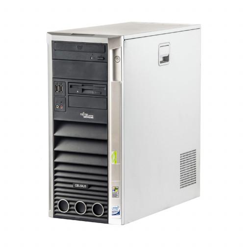 Fujitsu Celsius W350 Intel Pentium E6300 2.80 GHz, 4 GB DDR 2, 160 GB HDD, DVD-ROM, Tower