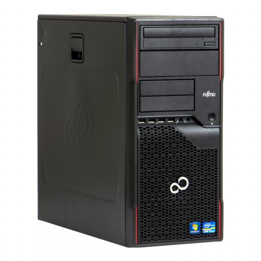 Fujitsu Celsius W410 Intel Core i5-2400 3.10 GHz, 8 GB DDR 3, 256 GB SSD, DVD-RW, Tower