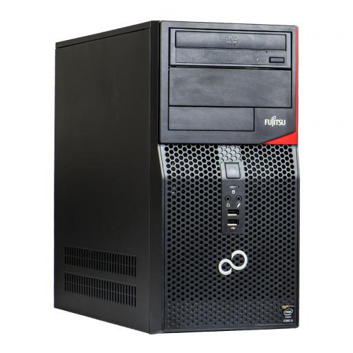 Fujitsu Esprimo P520 Intel Core i5-4590 3.30GHz, 8GB DDR3, 256GB SSD, DVD-ROM, Tower, Windows 10 Pro MAR, calculator refurbished