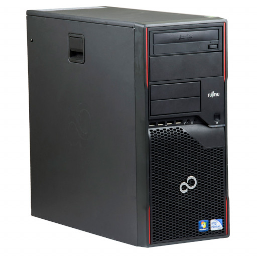 Fujitsu Esprimo P710 Intel Pentium Dual Core G2120 3.10 GHz, 4 GB DDR 3, 500 GB HDD, DVD-RW, Tower
