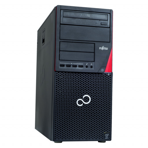 Fujitsu Esprimo P720 Intel Core i7-4770 3.40 GHz, 4 GB DDR 3, 500 GB HDD, DVD-RW, 1 GB GeForce 605, Tower, Windows 10 Pro MAR