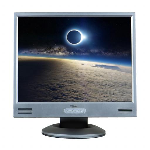 Fujitsu P20-1, 20 inch LCD, 1280 x 1024, negru - argintiu