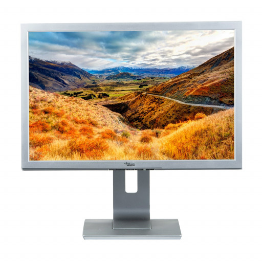 Fujitsu P22W-5, 22 inch LCD, 1680 x 1050, 16:10, HDMI, negru - argintiu