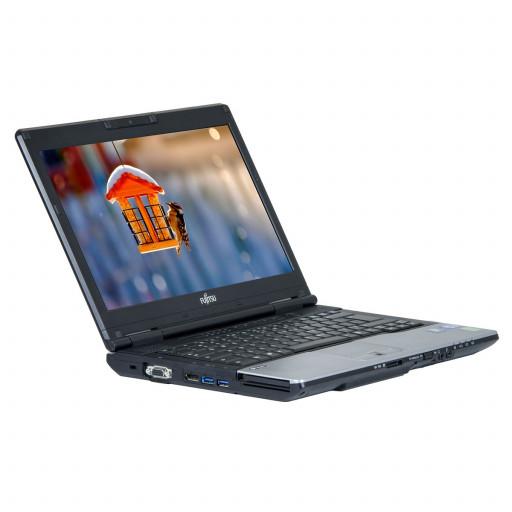 Fujitsu Lifebook S752 14 inch LED, Intel Core i5-3320M 2.60 GHz, 4 GB DDR 3, 320 GB HDD, Webcam, Windows 10 Pro MAR