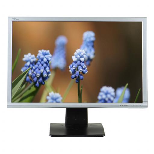 Fujitsu X22W-1, 22 inch LCD, 1680 x 1050, 16:10, negru - argintiu