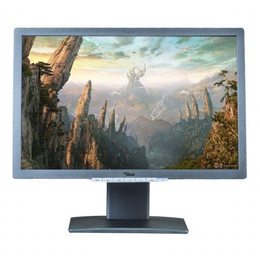 Fujitsu-Siemens B22W-7, 22 inch LED, 1680 x 1050, 16:10, displayport, negru - argintiu