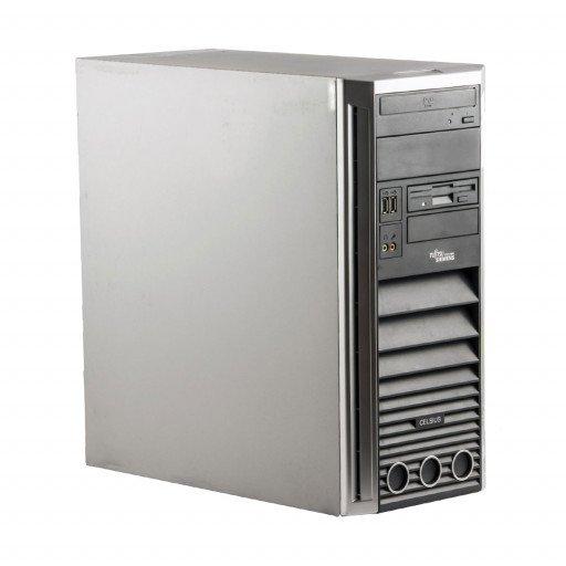 Fujitsu Celsius W360 Intel C2D E6550 2.33 GHz, 4 GB DDR 2, 250 GB HDD, DVD-ROM, Tower
