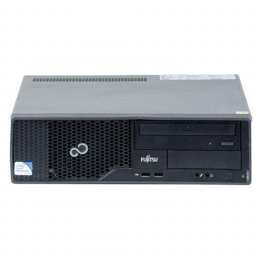 Fujitsu Esprimo E500 Intel Core i3-2120 3.30GHz, 4GB DDR3, 500GB HDD, DVD-RW, SFF, Windows 10 Pro MAR, calculator refurbished