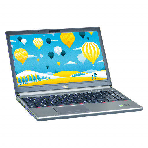 "Fujitsu Lifebook E754 laptop second hand reconditionat 15.6"" LED"