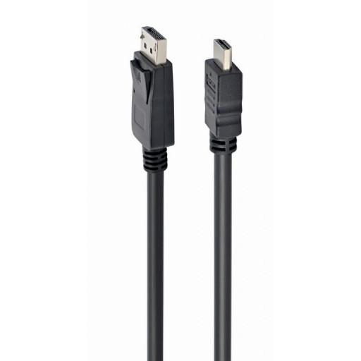 Cablu date Displayport - HDMI, Cablexpert, CC-DP-HDMI-10M