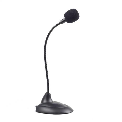 Microfon desktop Gembird MIC-205, 3.5 mm jack - Black