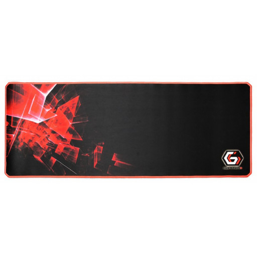 Mouse pad Gembird MP-GAMEPRO-XL - Black/ Red