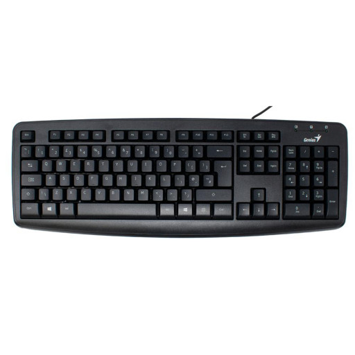 Tastatura Genius KB-110X, PS2 - Black
