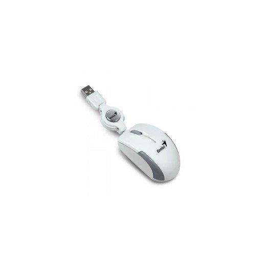 Mouse Genius Micro Traveler USB - White