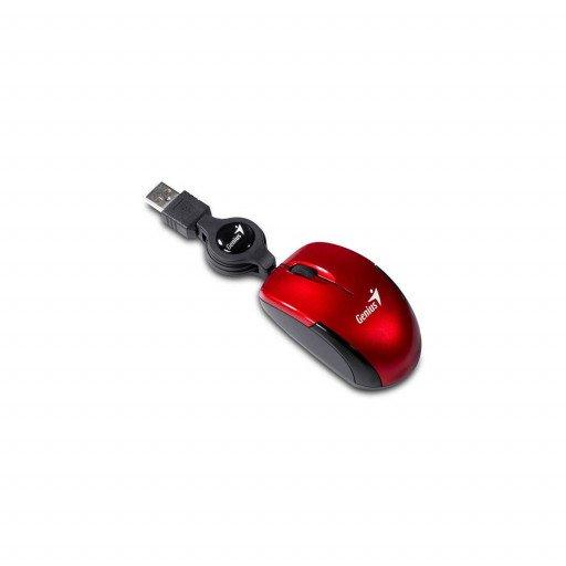 Mouse optic Genius Micro Traveler - Red