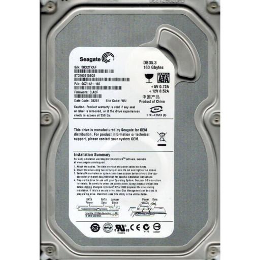 """HDD 160 GB S-ATA Seagate 3.5"""" - reconditionat"""