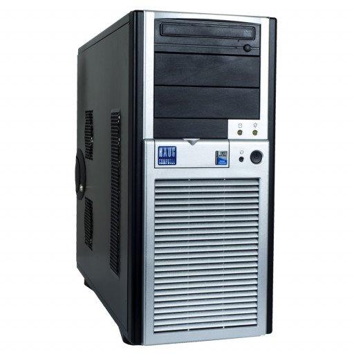 Haug C3844 Intel Core i7-860 2.80 GHz, 4 GB DDR 3, 500 GB HDD, DVD-ROM, 1 GB GeForce 605, Tower, Windows 10 Home MAR