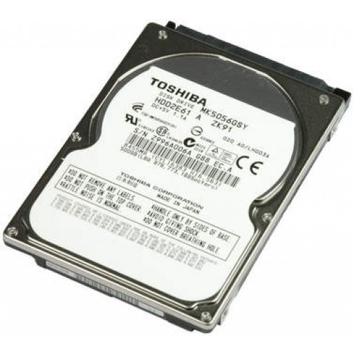 "HDD notebook 500GB S-ATA Toshiba 2.5"" - reconditionat"