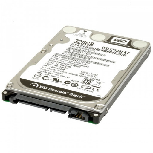 "HDD notebook 320GB S-ATA Western Digital 2.5"" - reconditionat"