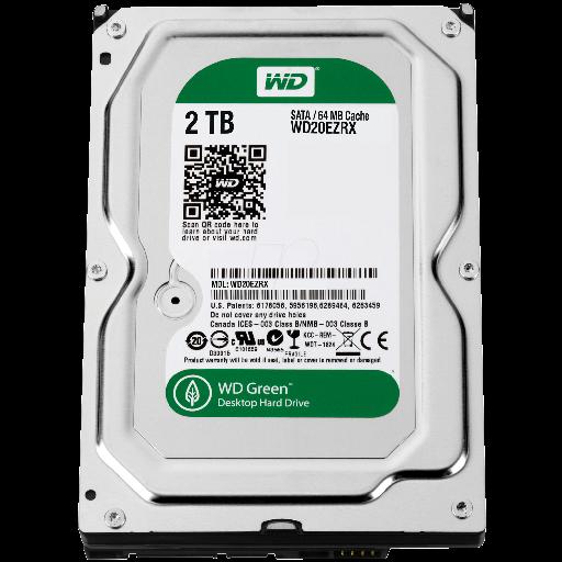HDD 2 TB S-ATA Western Digital WD20EZRX