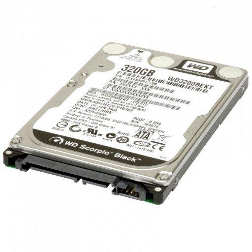 "HDD notebook 320GB S-ATA Western Digital 2.5"" - reconditionat"