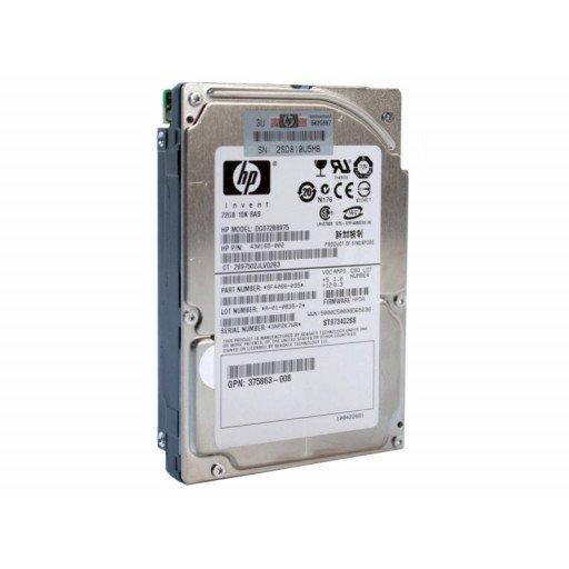 "HDD server HP 72 GB 2.5"" refurbished"