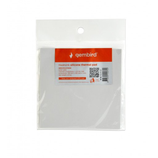 Heatsink silicone thermal pad Gembird - TG-P-01