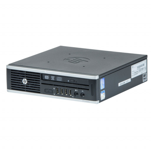 HP 8200 Elite Intel Core i5-2500S 2.70 GHz, 4 GB DDR 3 SODIMM, 250 GB HDD, DVD-RW, USDT, Windows 10 Pro