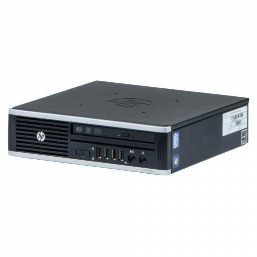 HP 8300 Elite Intel Core i5-3475S 2.90 GHz, 4 GB DDR 3 SODIMM, 320 GB HDD, DVD-RW, USDT