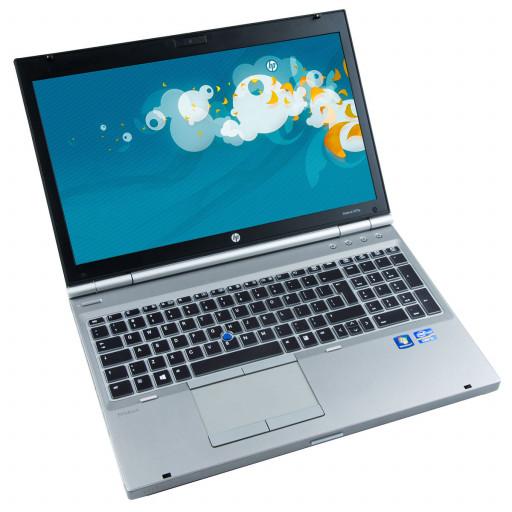 HP Elitebook 8570p 15.6 inch LED, Intel Core i5-3320M 2.60 GHz, 4 GB DDR 3, 320 GB HDD, DVD-RW
