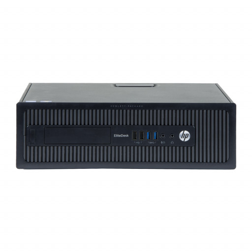 HP Elitedesk 800 G1 Intel Core i5-4570 3.20 GHz, 4 GB DDR 3, 500 GB HDD, Fara unitate optica, SFF, Windows 10 Pro