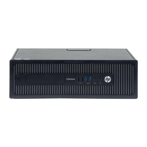 HP Elitedesk 800 G1 Intel Core i5-4590 3.30 GHz, 4 GB DDR 3, 500 GB HDD, SFF, Windows 10 Home MAR