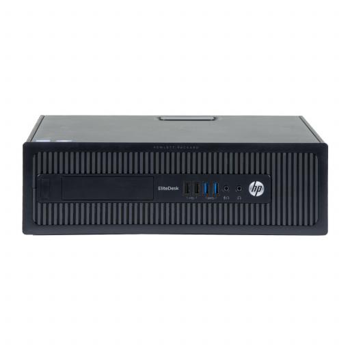 HP Elitedesk 800 G1 Intel Core i3-4160 3.60GHz, 4GB DDR3, 500GB HDD, DVD-RW, SFF, calculator refurbished