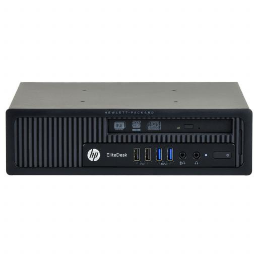 HP Elitedesk 800 G1 Intel Core i5-4570S 2.90 GHz, 8 GB DDR 3 SODIMM, 500 GB HDD, DVD-RW, USDT, Windows 10 Home MAR