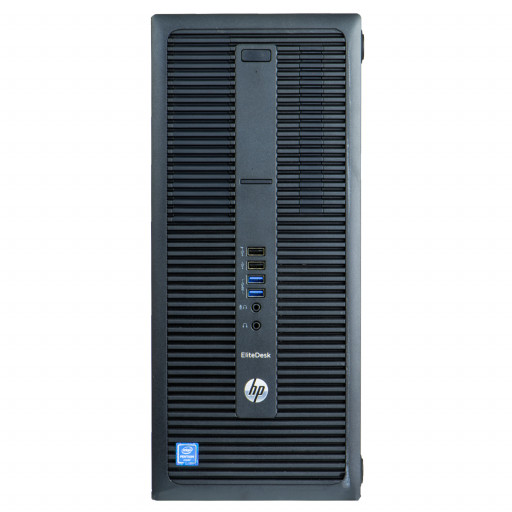 HP EliteDesk 800 G2, Core i7-6700 pana la 4.00GHz, 8GB DDR4, 256GB SSD, Tower, Windows 10 Pro MAR, calculator refurbished