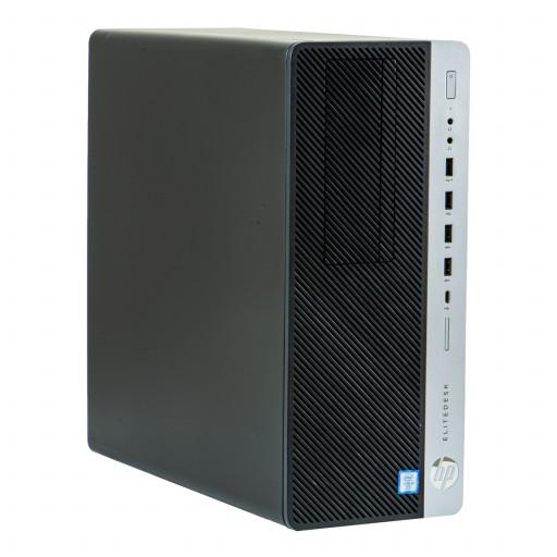 HP EliteDesk 800 G3 Tower calculator second hand recondiționat