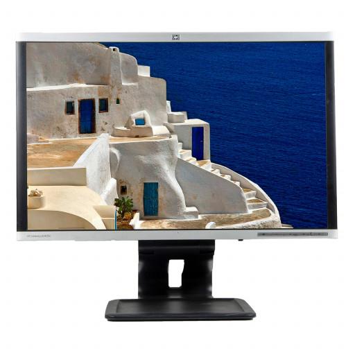 HP LA2405X, 24 inch LED, 1920 x 1200 Full HD, 16:10, displayport, negru - argintiu