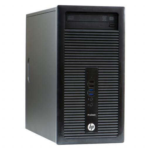 HP ProDesk 400 G1 Intel Core i5-4590 3.30GHz, 8GB DDR3, 500GB HDD, DVD-RW, Tower, Windows 10 Pro MAR, calculator refurbished