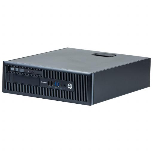 HP Prodesk 600 G1 Intel Core i5-4670S 3.10GHz, 4GB DDR3, 500GB HDD, DVD-ROM, SFF, Windows 10 Pro MAR, calculator refurbished