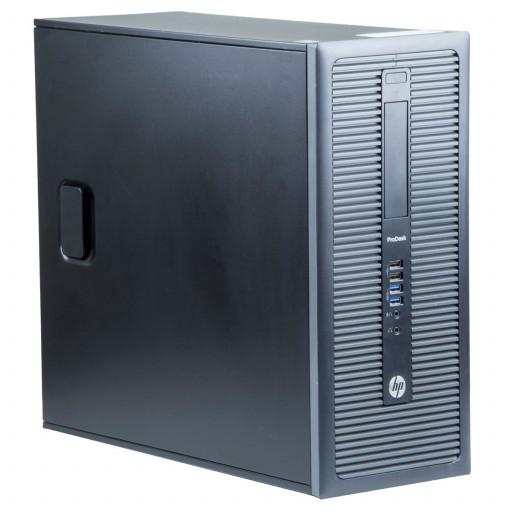 HP Prodesk 600 G1 Intel Core i5-4570 3.20 GHz, 4 GB DDR 3, 500 GB HDD, Fara unitate optica, Tower, Windows 10 Pro